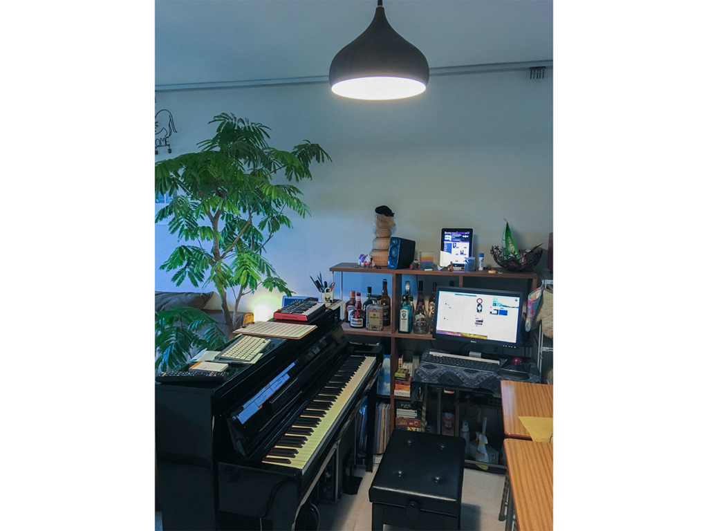 bermei.inazawaさんの自宅作業環境